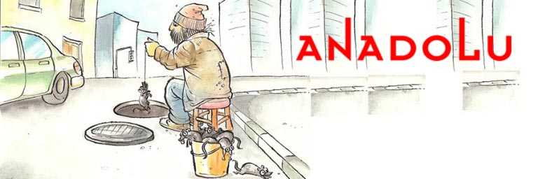 Ankarada Karikatür Çizimleri