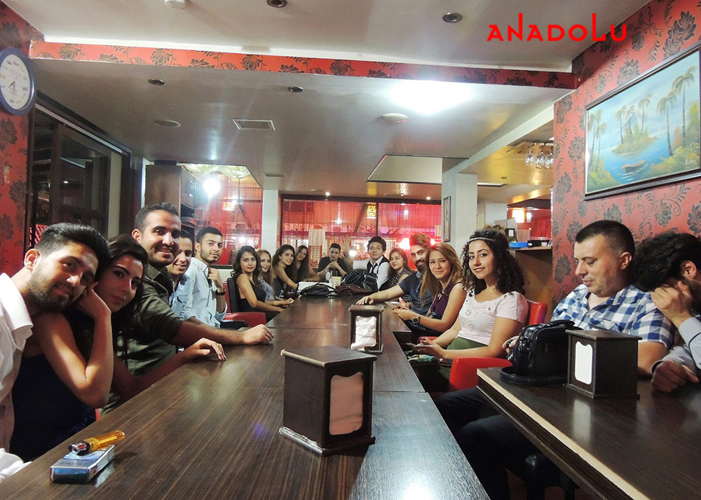 Ankarada Güzel Sanatları Kazananların Eğlencesi