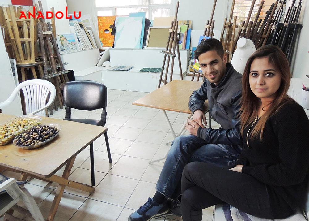 Ankarada Güzel Sanatlara Hazırlık Atölyesi