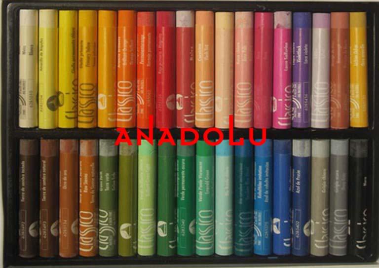 Pastel Boya Yapımlı Ankara
