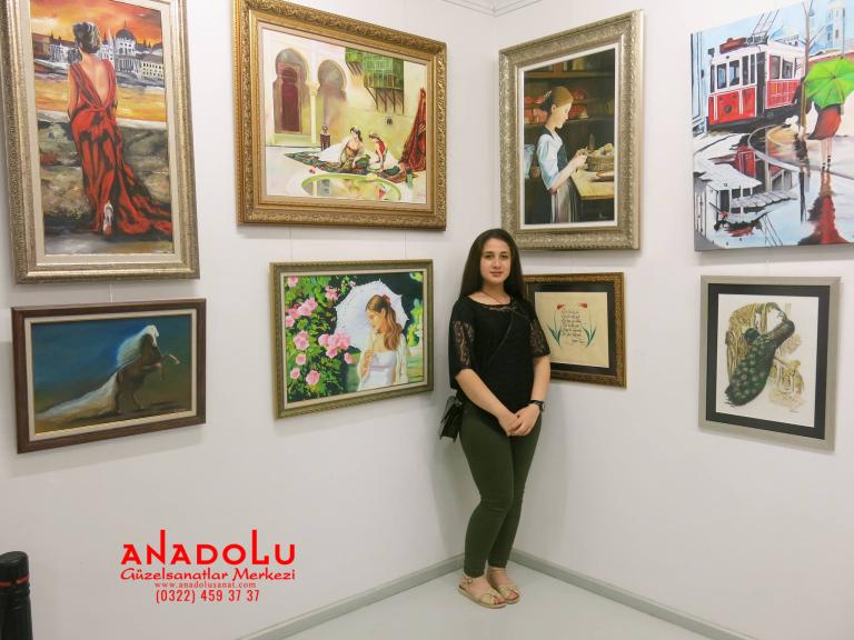 Güzel Sanatlar İçin Resim Sergileri Ankara