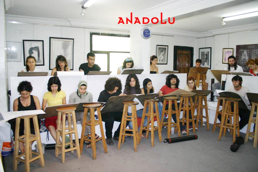 Ankarada Anadolu Guzel Sanatlar Egitim Kurumlari