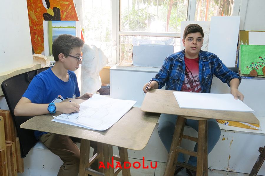 Lise Öğrencilere Resim Kursları Ankara