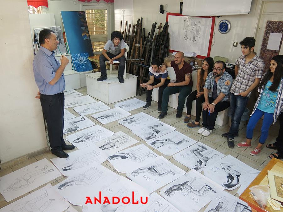 Anadolu Güzel Sanatlarda Desen Sınavları Ankara