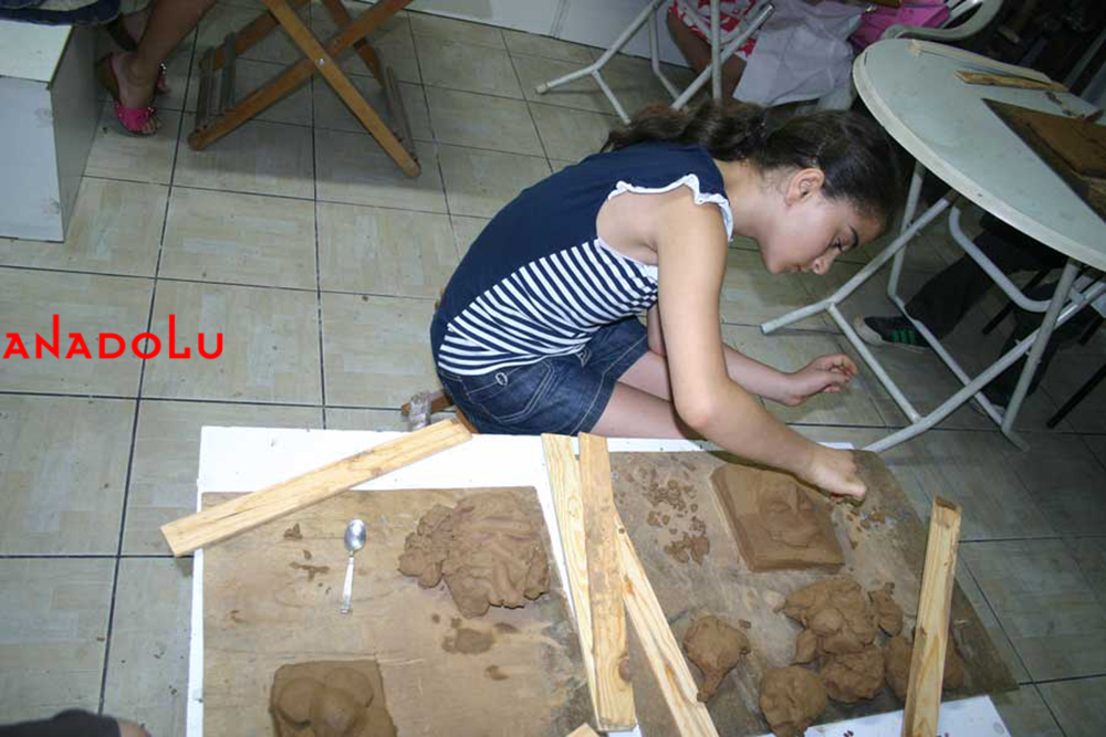 Çocuklar Heykel Kursu Ankara