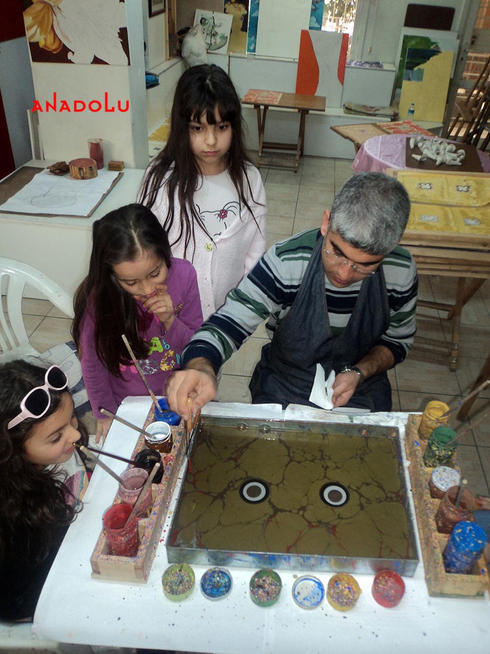 Ankara Çocuklar İçin Özel Ebru Eğitimleri