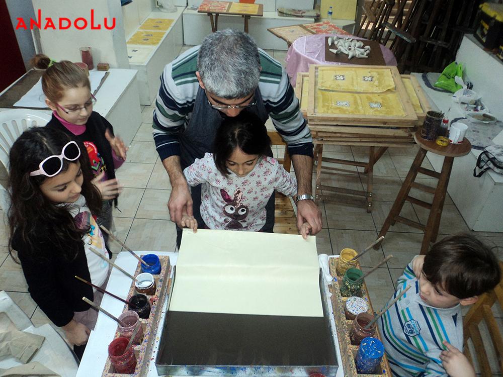 Çocuk İçin Ebru Kursu Ankara
