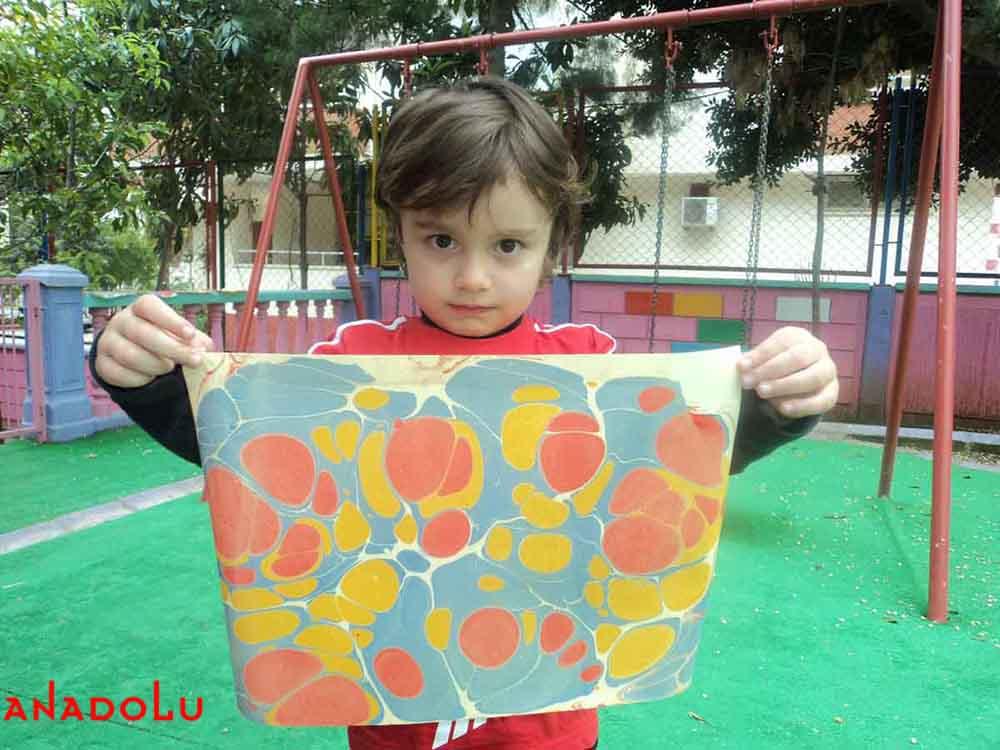 Çocuklar İçin Ebru Kursları Ankara