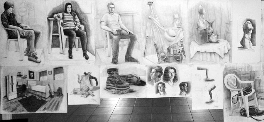 Güzel Sanatlarda Çıkmış İmgesel Çizimler Ankara