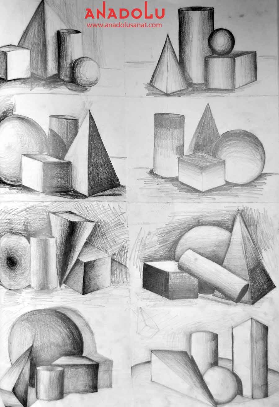 Güzel Sanatlar Fakülteleri İçin İmgesel Çizimler Ankara
