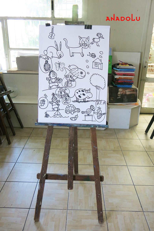Çocuklar İçin Karikatür Örnekleri Ankara