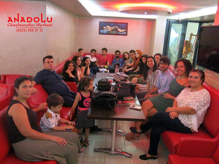 Çocuklar İçin Yaz Sanat Dersleri Ankara