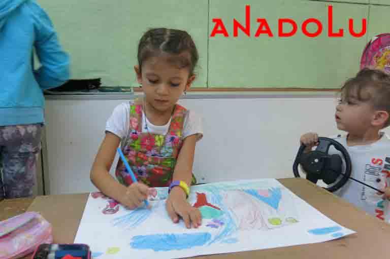 Anadolu Resim Atölyesinde Çocuk Kursları Ankara