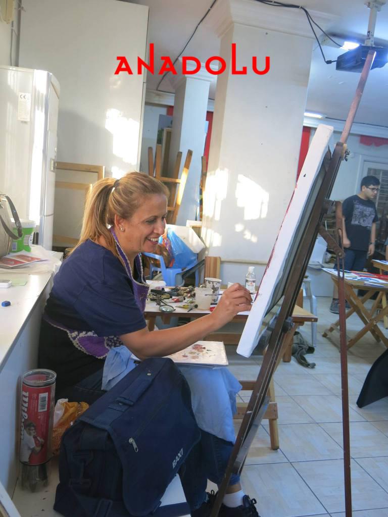 Yağlı boya Çalışmaları Hobi Grubu Dersleri Ankara