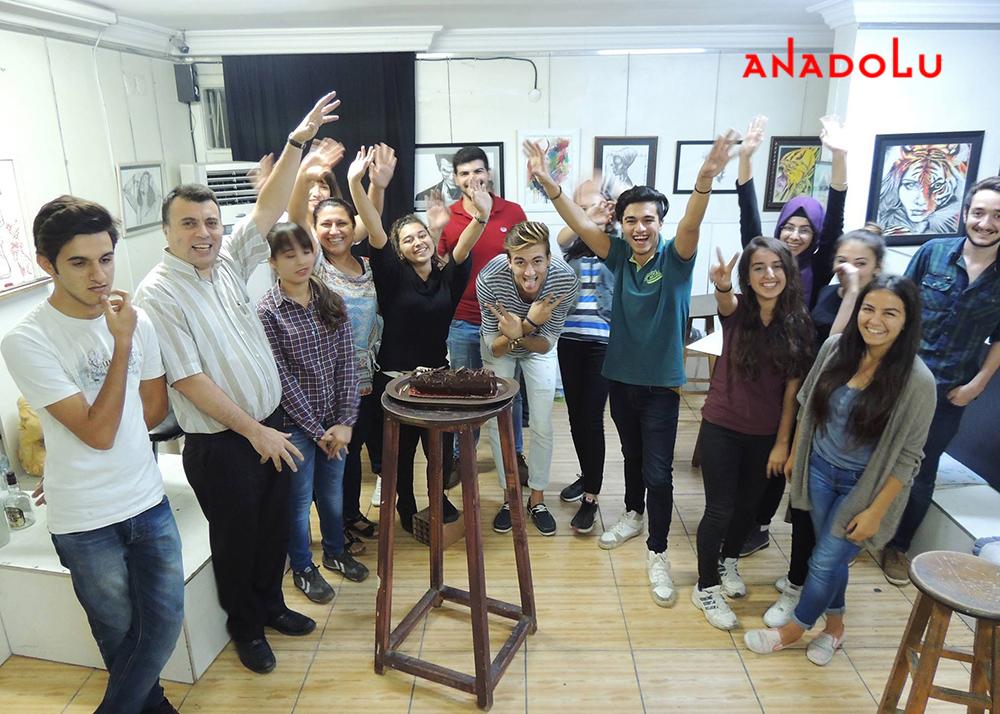 Ankarada Güzel Sanatlar Eğitim Atölyesi